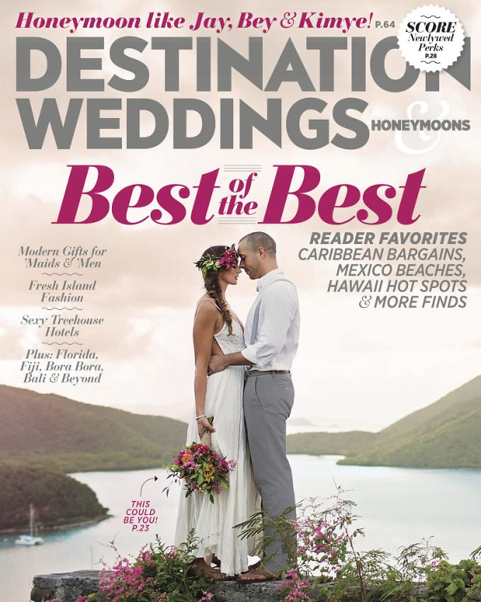Destination Weddings & Honeymoon Cover - Tracy French - Wedding Planner - www.TFCEvents.com